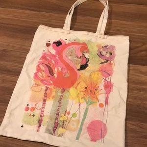 AEO Flamingo Tote Bag